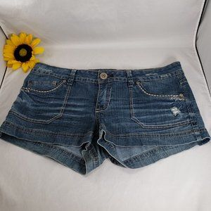 Hydraulic Embroidered Shorts Size 13/14